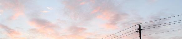 soft blue sky