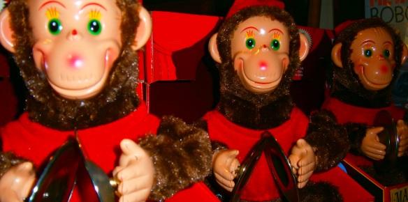wind up monkeys